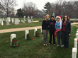 Belvoir Federal Employees Lay Wreaths for Soldiers at Quantico and Arlington