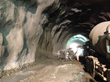 Spray to last: The PENETRON ADMIX-Enhanced Shotcrete (PASES) mix is sprayed on the newly-dug walls of the Morro do Formigão tunnel.