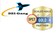 321 Gang, Inc. Now a Scaled Agile Framework® (SAFe®) Gold Partner and SAFe Program Consultant (SPCT) Certified
