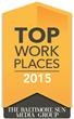 "Connections Education Awarded ""Top Workplace"" by the Baltimore Sun for Third Consecutive Year"