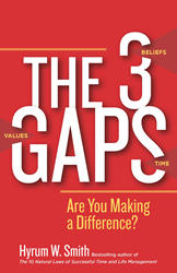 The 3 Gaps Debuts, Offers Simple Ways to Live Values and Unleash...
