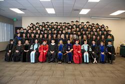 Fall 2015 Graduates in California
