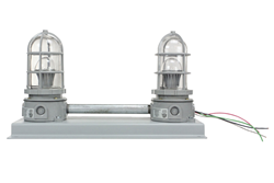 Corrosion Resistant LED Traffic Light Equipped with Two 10 Watt LED Lamps