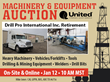 Idaho Machinery & Equipment Manufacturing Facility Assets Hit The Auction Block