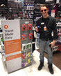 Skyroam's global hotspot at Brookstone's Gift Store in Houston Intercontinental IAH Airport