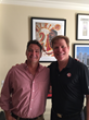 Uncle Maddio's founder and CEO Matt Andrew with Investor and Attorney Rutherford Seydel