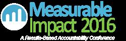 Measurable Impact 2016 logo
