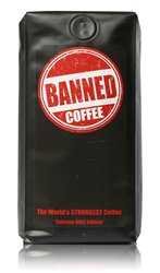 Banned Coffee - 1 Pound - Get it at Amazon.com