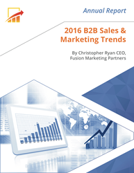B2B Marketing Agency Highlights 2016 Marketing and Sales Trends