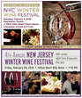 New York Wine Events to Present Annual Winter Wine Festivals in Times Square and New Jersey
