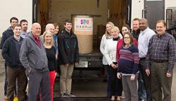 Batzner Pest Control Donates 1,886 Pounds to Local Food Pantry