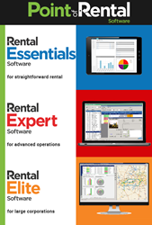 Point of Rental® Software is premier provider of award-winning rental and inventory management software for thousands of companies worldwide. As the leader in rental and inventory management, our products are designed to streamline your entire business.
