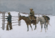 Lonesome Dove: The Art of Story, Lonesome Dove, Pulitzer Prize novel, Larry McMurtry, Lonesome Dove TV miniseries, Robert Duval, Tommy Lee Jones, Amon Carter Museum of American Art, Fort Worth, Texas, Frederic Remington, Charles M. Russell, Sid Richardson