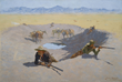 Lonesome Dove: The Art of Story, Lonesome Dove, Pulitzer Prize novel, Larry McMurtry, Lonesome Dove TV miniseries, Robert Duval, Tommy Lee Jones, The Museum of Fine Arts, Houston, Frederic Remington, Charles M. Russell, Sid Richardson Museum, Lonesome Dov