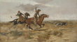 Lonesome Dove: The Art of Story, Lonesome Dove, Pulitzer Prize novel, Larry McMurtry, Lonesome Dove TV miniseries, Robert Duval, Tommy Lee Jones, Frederic Remington, Charles M. Russell, Sid Richardson Museum, Fort Worth, Texas, Lonesome Dove Trail, The Wi