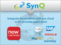 SynQ - connect ServiceNow with any other on-premise or cloud application.