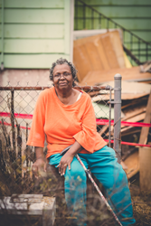 CQC Home is donating much needed repairs to make her home safe for holidays. Photo Credit: Iman Woods