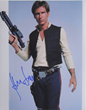 An example of an authentic autograph of actor Harrison Ford.  Photo credit: PSA/DNA Authentication Services.