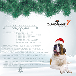 Quadrant2Design's advent calendar featured an array of trivia, and recipes from around the world.