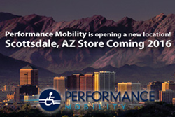 Performance Mobility coming to Scottsdale, AZ
