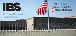 Bird B Gone to show at IBS 2016