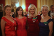(l to r): Mrs. Lisa Niemi Swayze, Milana Dostanitch, Esq., Dame Mica Mosbacher and Dame Dr. Anna Armstrong
