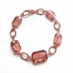 LoveYourBling's Blush Crystal Bracelet, as worn on Jane the Virgin
