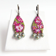Floral Hand Painted Earrings from LoveYourBling