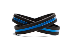 Respect police and law enforcement wristband bracelet