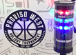 Fusion Sport's Smartspeed Pro Timing System at the Proviso West Holiday Basketball Tournament