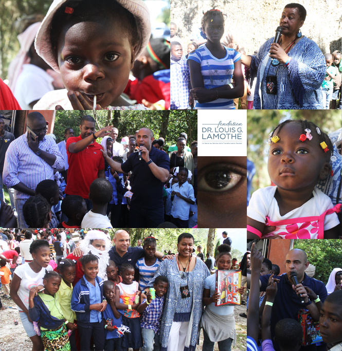 Brc Holiday Celebration Photos 2015: Former Republic Of Haiti Prime Minister Laurent Lamothe