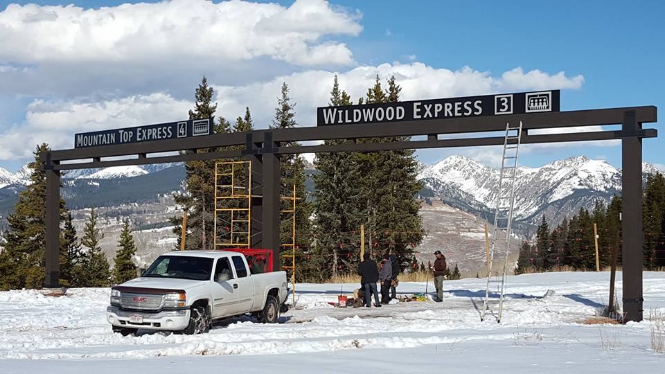 Vail resort extends ski season one extra week and for Chair 4 cliffs vail
