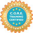 Pure Aroma Cleaning is C.O.R.E. Training Certified