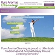 Pure Aroma Cleaning's Website: www.purearomacleaning.net