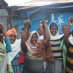 Seven Women Empowered Groups Work Together To Encourage Education