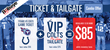 Bullseye Event Group VIP Colts Tailgate and Game Day Ticket Promotion for Titans vs. Colts on January 3.