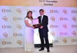 Maria Rios Honored by IWEC-Istanbul