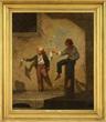 MARTIN JOHNSON HEADE (American, 1819-1904) ROMAN NEWSBOYS II, 1849