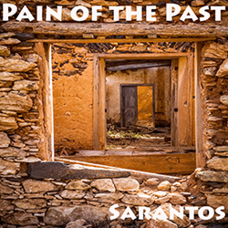 Sarantos song artwork Pain Of The Past solo music artist Voice of Chicago new pop rock free release Feed The Starving Children Charity