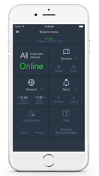 Domotz Home Monitoring and Tech Support System