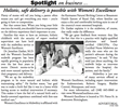 Women's Excellence Featured In Latest Birmingham-Bloomfield Eagle