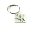 Kim Jakum Golden Globes Children's Art Key Chain.
