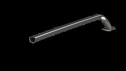 metal fabricrated heavy truck handle