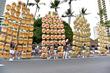 Akita Kanto Lantern Festival during Grand Parade