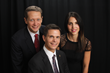 Left to right: Robert Kemper, Chief Investment Officer; three-year winner Gabor Nagy, CFP®, CLU®, ChFC®, CAP®, Principal; Jessica Lotito, Executive Assistant