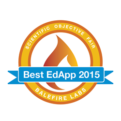 Balefire Labs Best EdApp of the Year 2015 badge