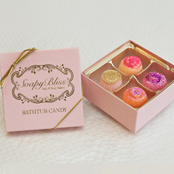 Box of Bubbly Bathtub Candy from SoapyBliss Bath & Body Bakery