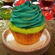 Mermaid Cupcake Bath Bomb from SoapyBliss Bath & Body Bakery