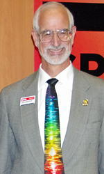 Robert Lieberman is serving as President of SPIE in 2016.