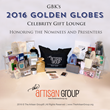 The Artisan Group® Dazzles with Luxury Handcrafted Swag at GBK's 2016 Golden Globes Celebrity Gift Lounge